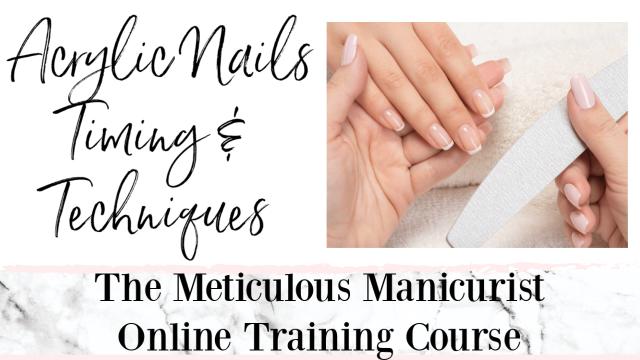 Online Acrylic Nails Course