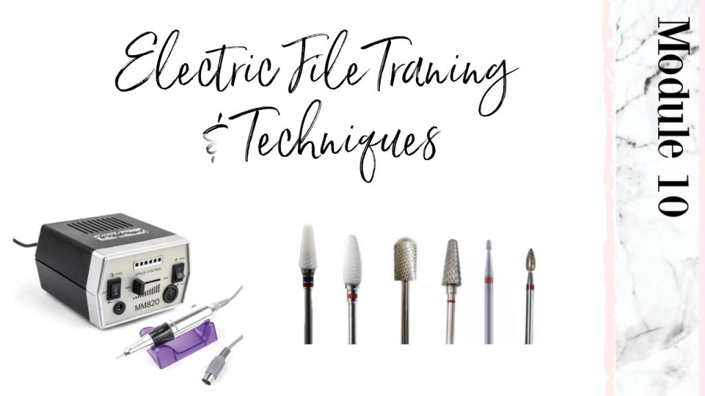 electric file class course workshop meticulous manicurist