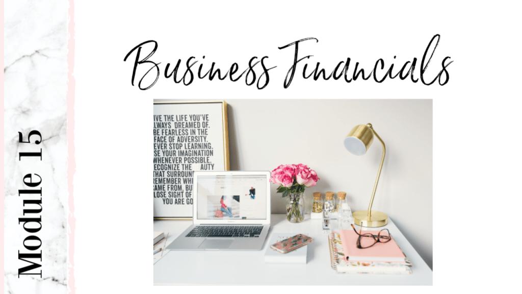 salon business financials course workshop lesson meticulous manicurist