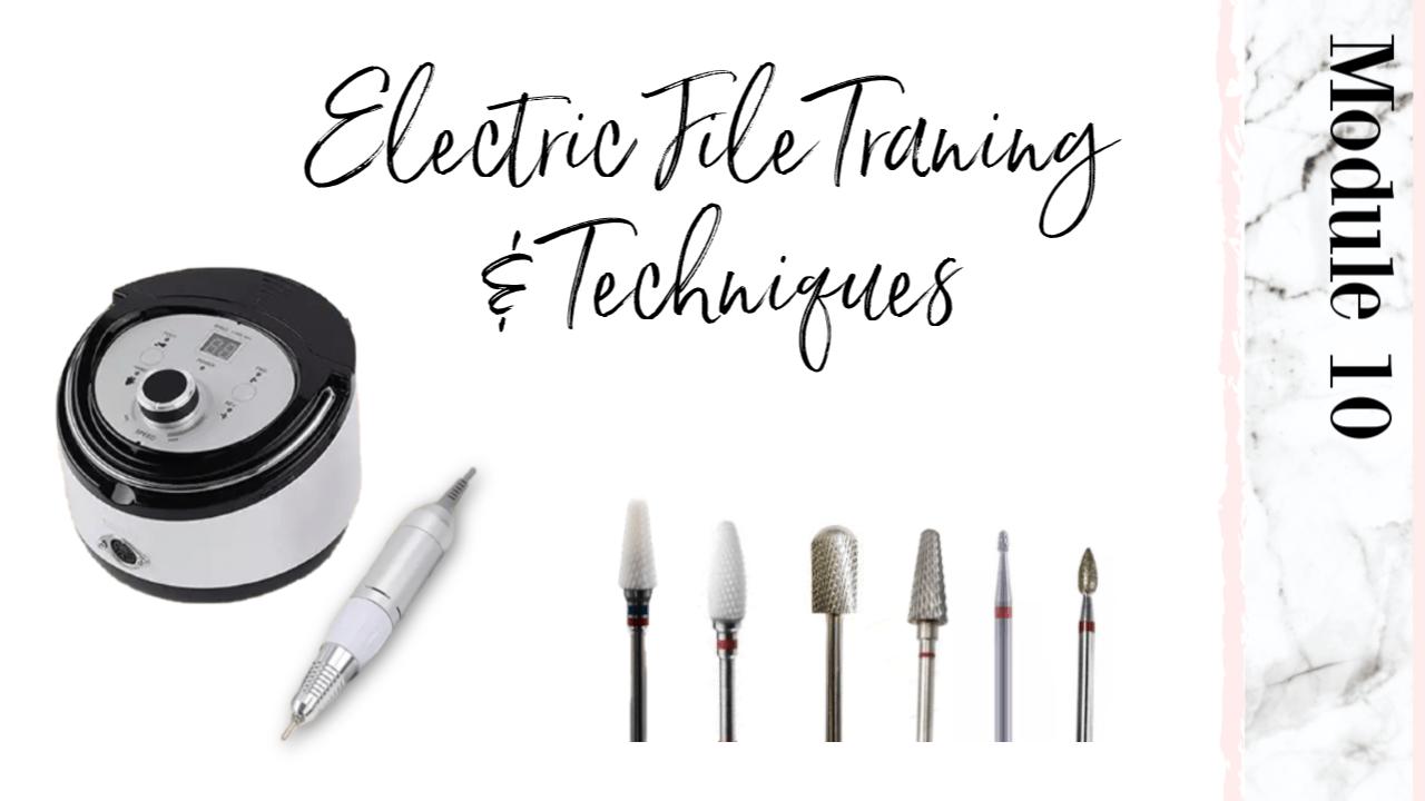 Electric File Pedicure Course Workshop